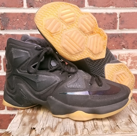 newest collection ab845 5e3cb Nike Lebron James 13 - Black Lion -